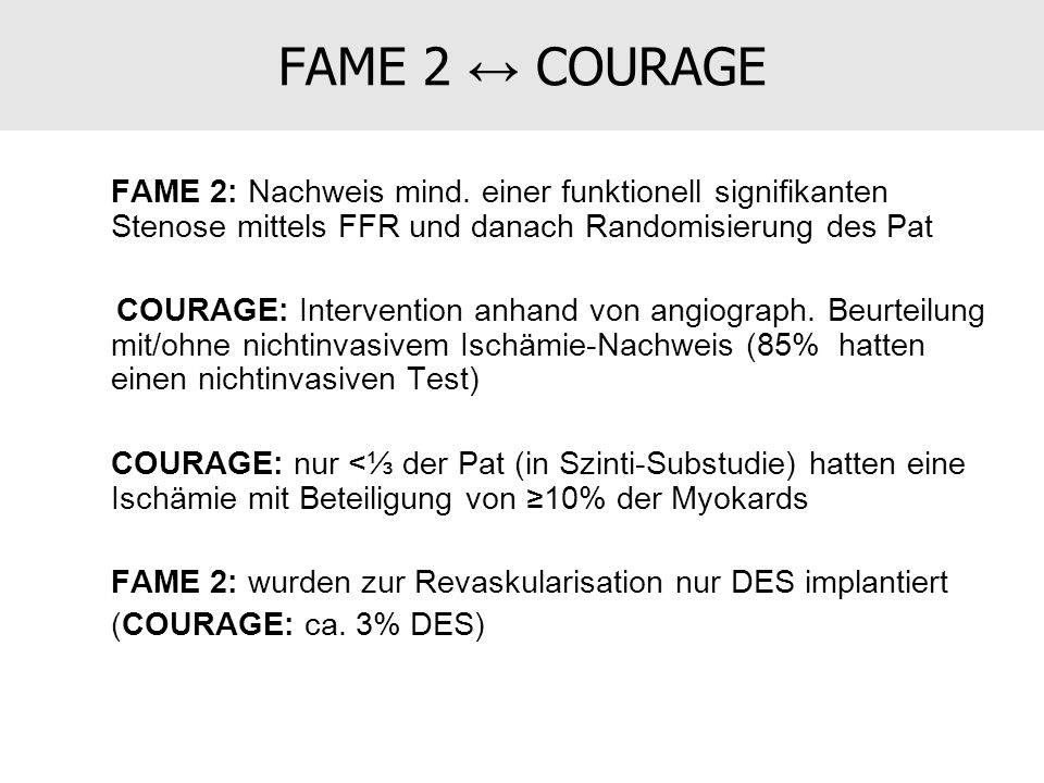 FAME 2 ↔ COURAGE