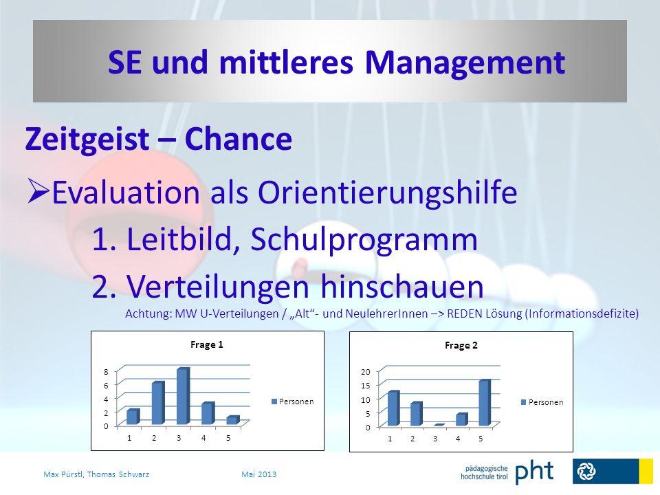 SE und mittleres Management