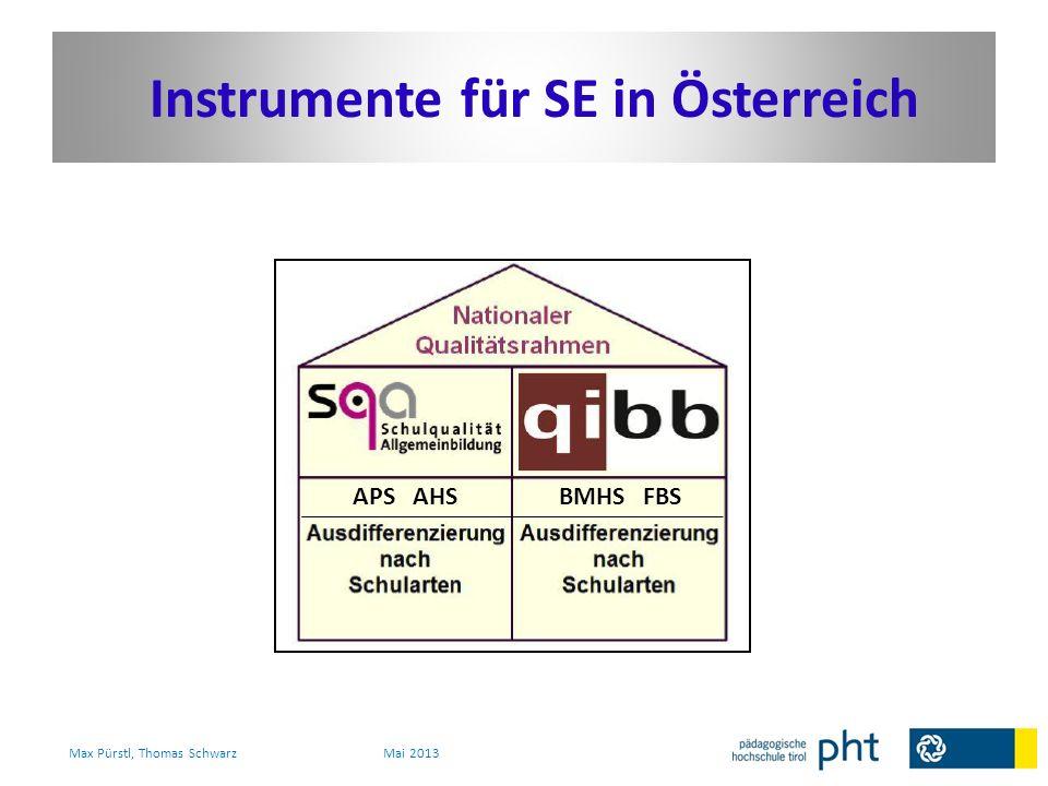Instrumente für SE in Österreich