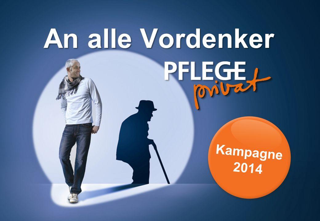 An alle Vordenker Kampagne 2014
