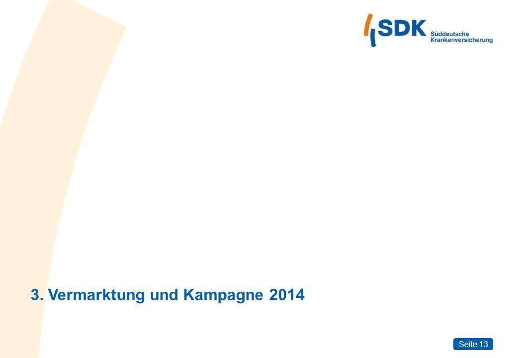 3. Vermarktung und Kampagne 2014