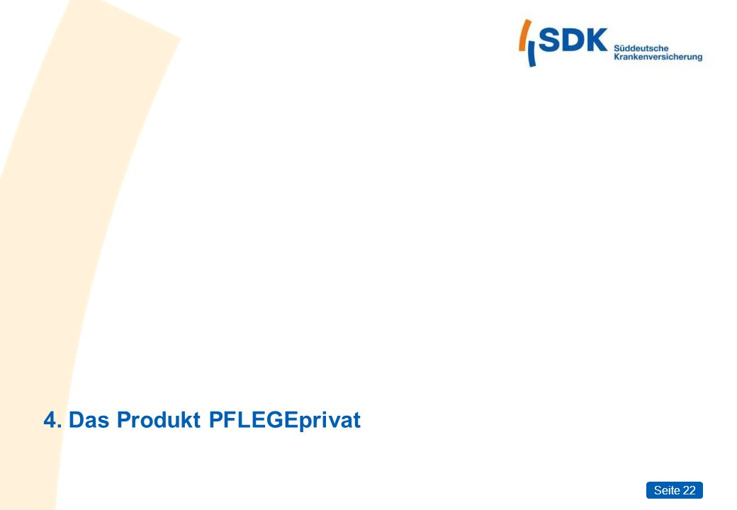 4. Das Produkt PFLEGEprivat
