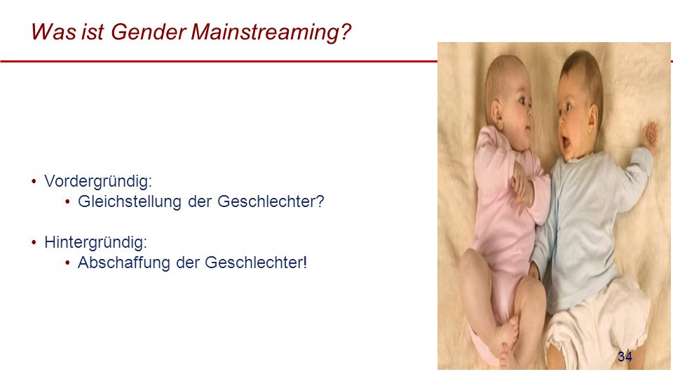Was ist Gender Mainstreaming