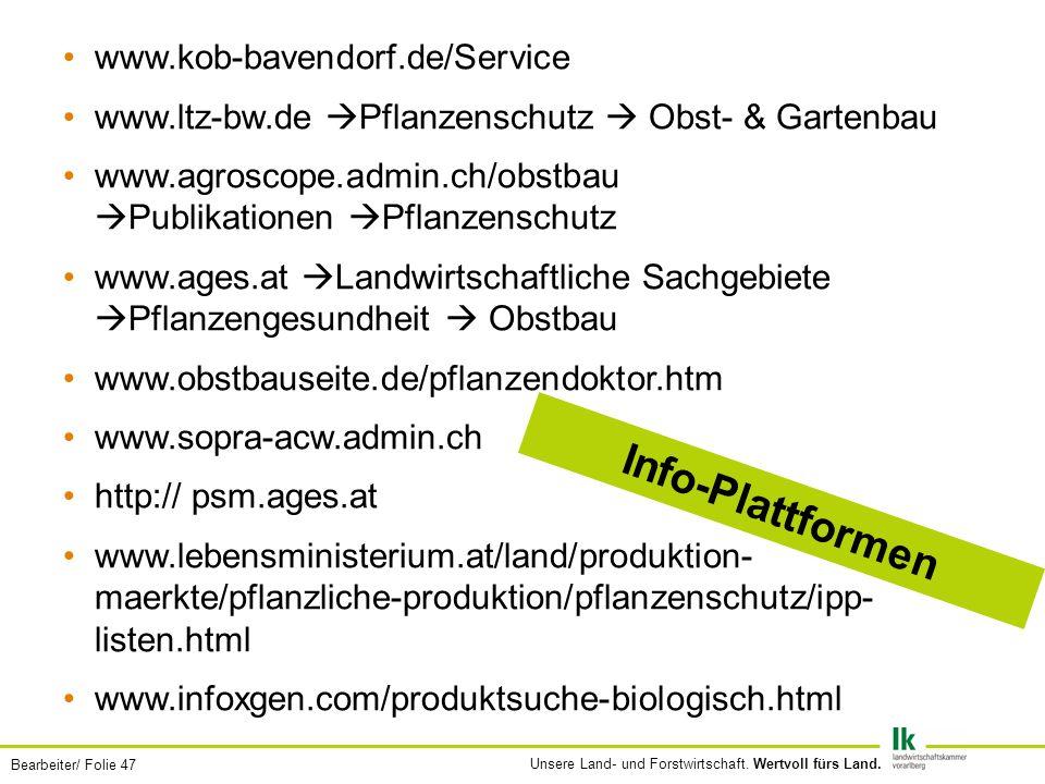 Info-Plattformen www.kob-bavendorf.de/Service