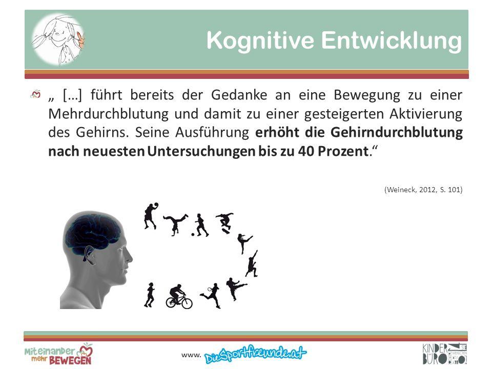 Kognitive Entwicklung