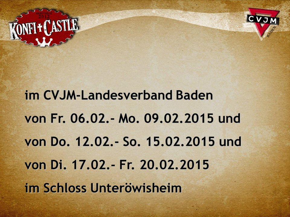 im CVJM-Landesverband Baden