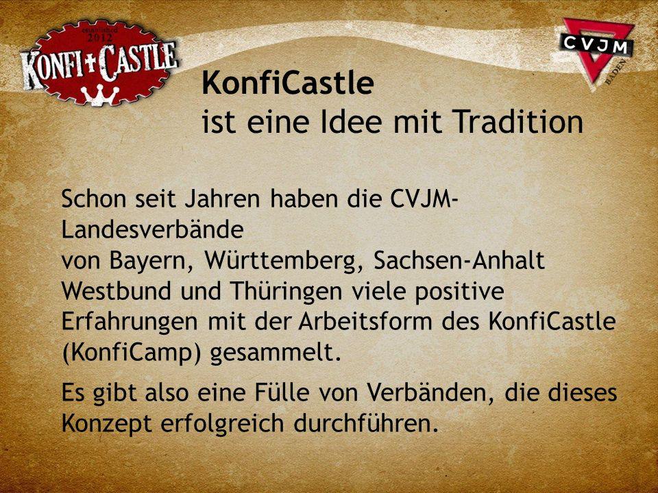 KonfiCastle ist eine Idee mit Tradition