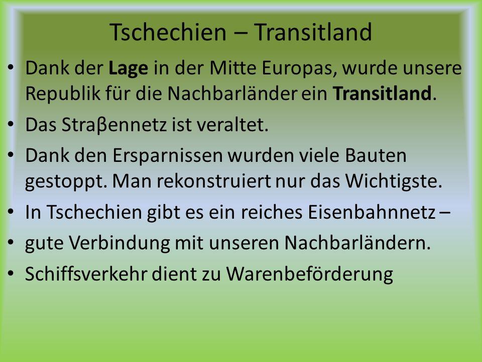 Tschechien – Transitland