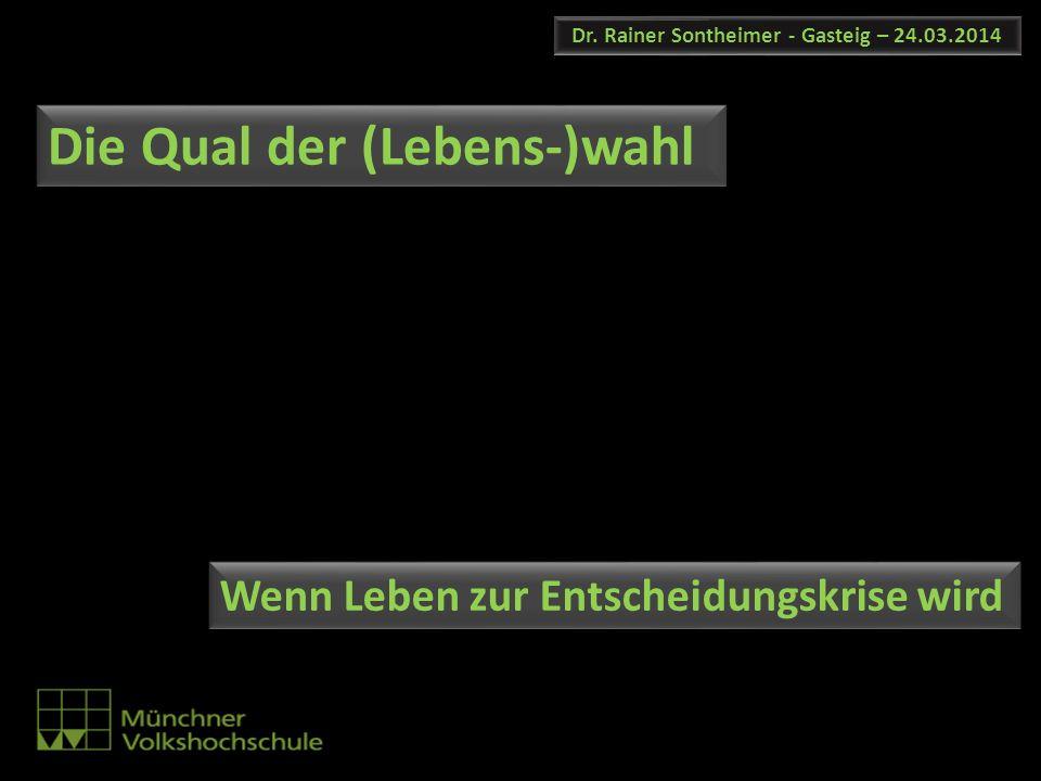 Dr. Rainer Sontheimer - Gasteig – 24.03.2014