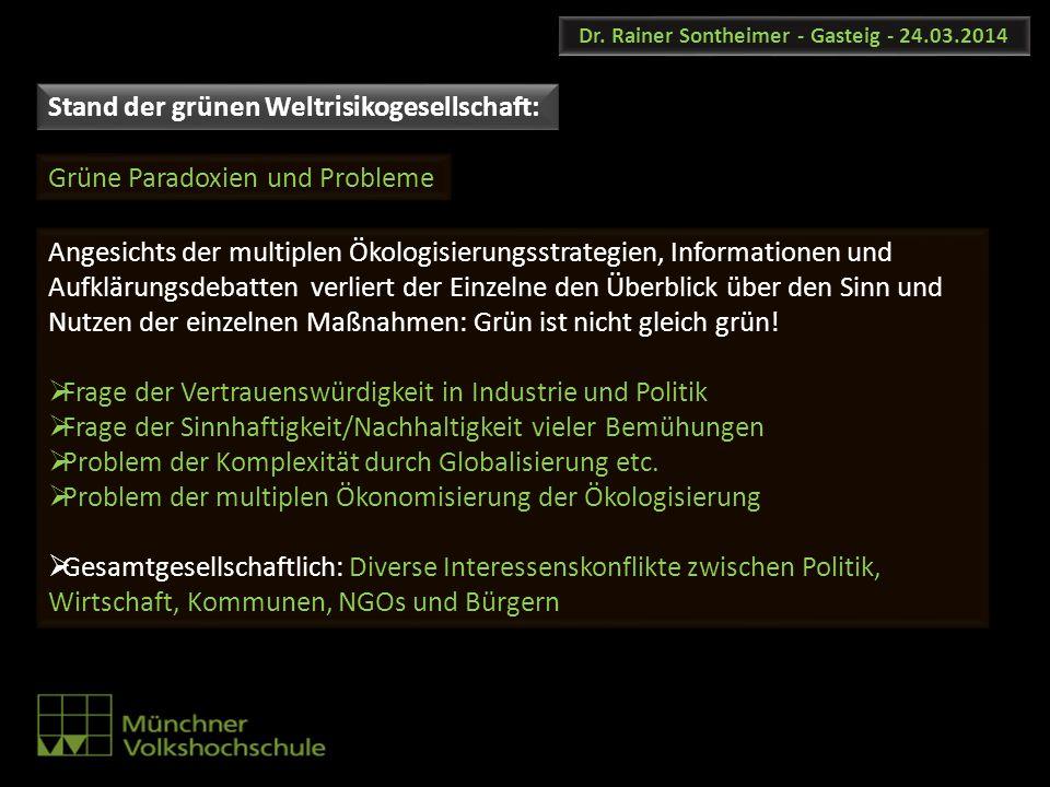 Dr. Rainer Sontheimer - Gasteig - 24.03.2014