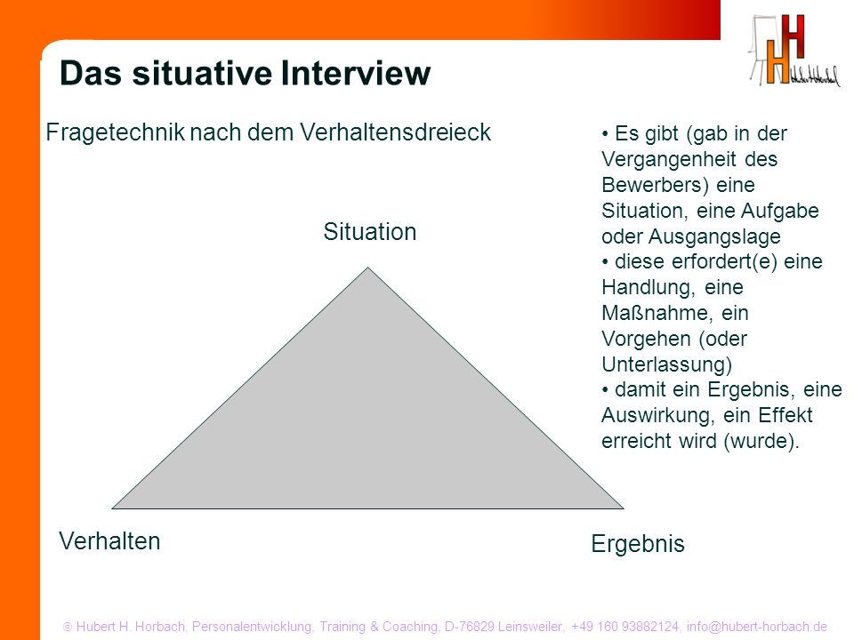 Das situative Interview