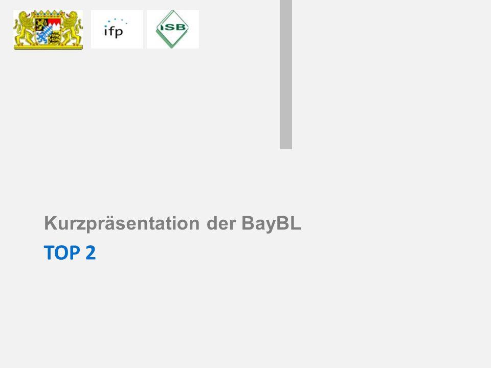 Kurzpräsentation der BayBL