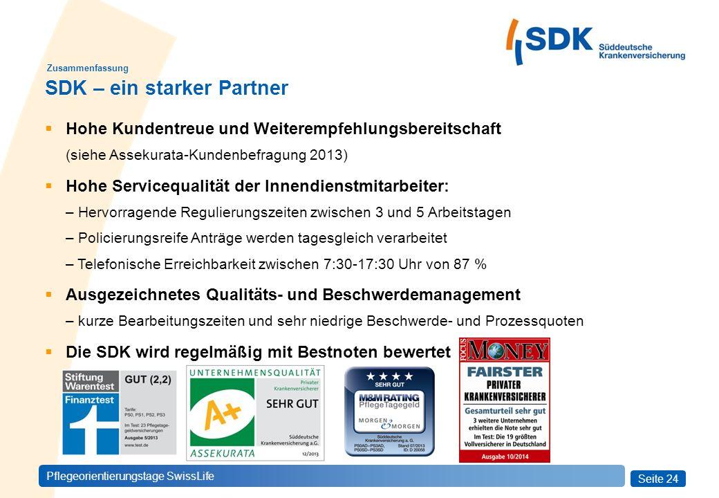 SDK – ein starker Partner