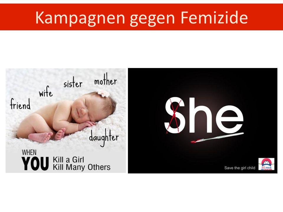 Kampagnen gegen Femizide