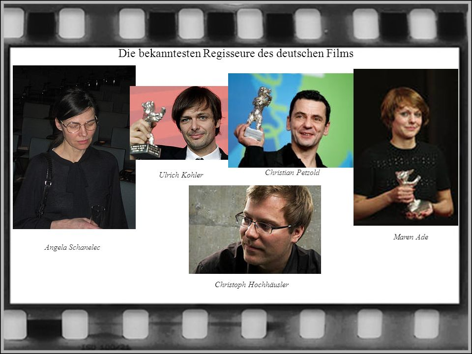 Die bekanntesten Regisseure des deutschen Films