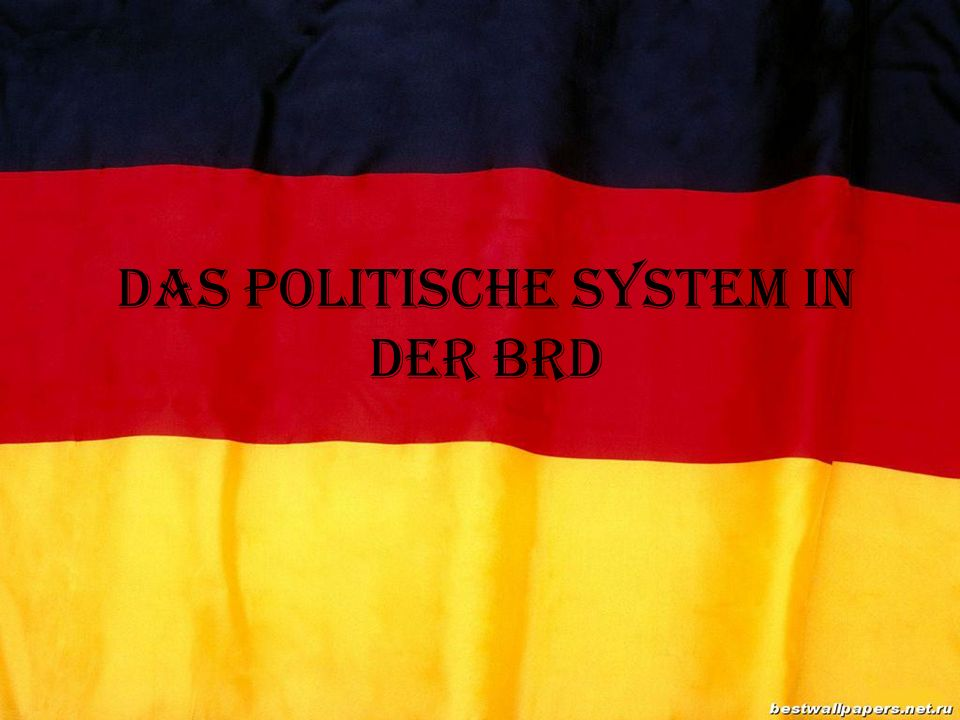 Das politische System in der BRD