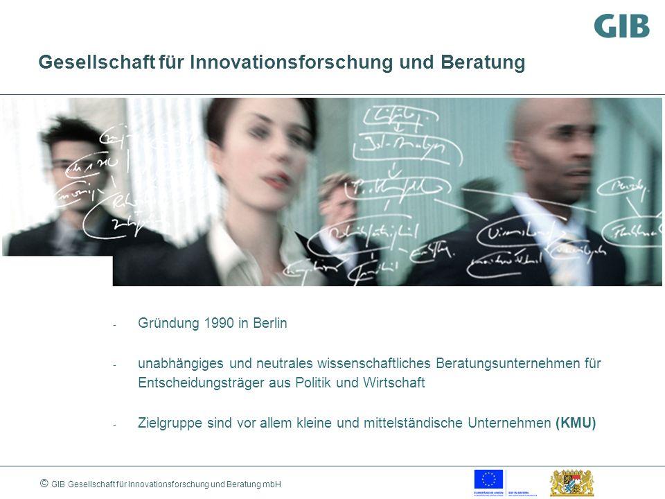 Gesellschaft für Innovationsforschung und Beratung