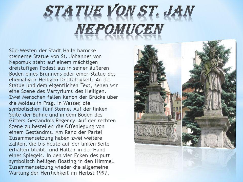 STATUE VON ST. JAN NEPOMUCEN