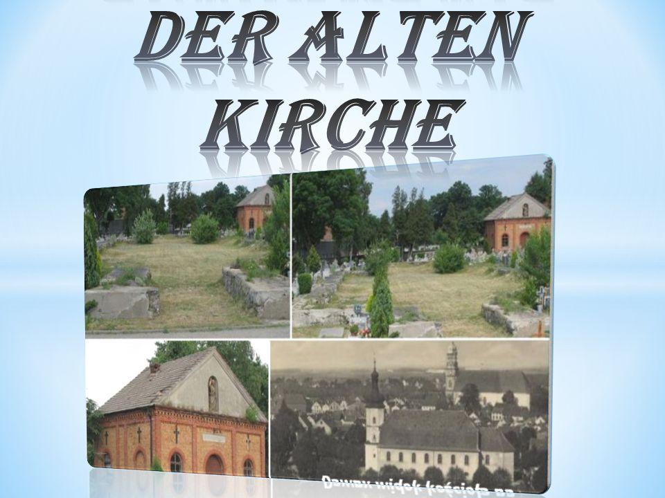 Die Fundamente der alten Kirche