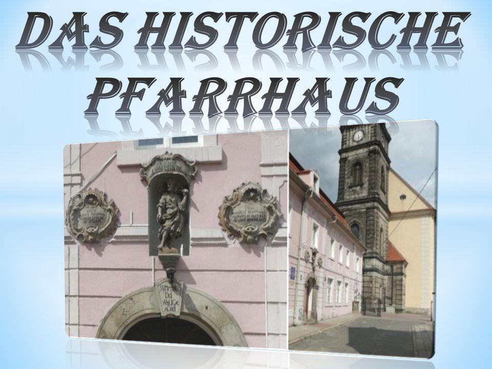 das historische Pfarrhaus