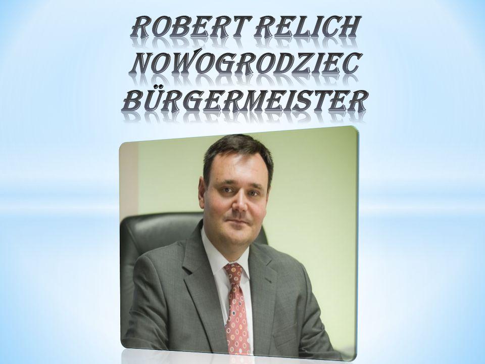 Robert Relich Nowogrodziec Bürgermeister