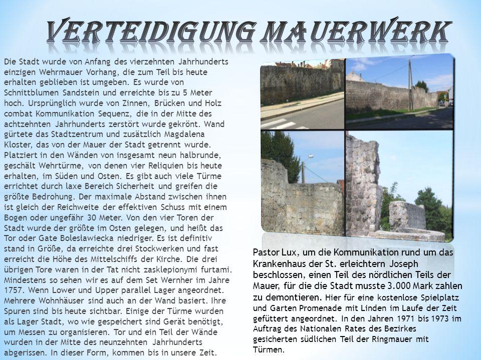 Verteidigung Mauerwerk