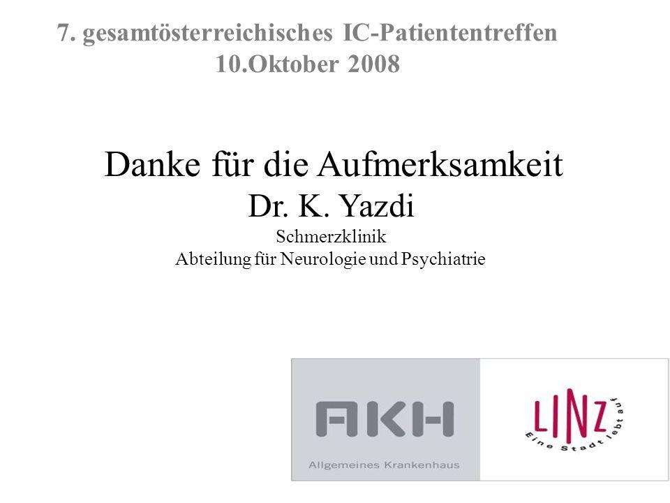 7. gesamtösterreichisches IC-Patiententreffen