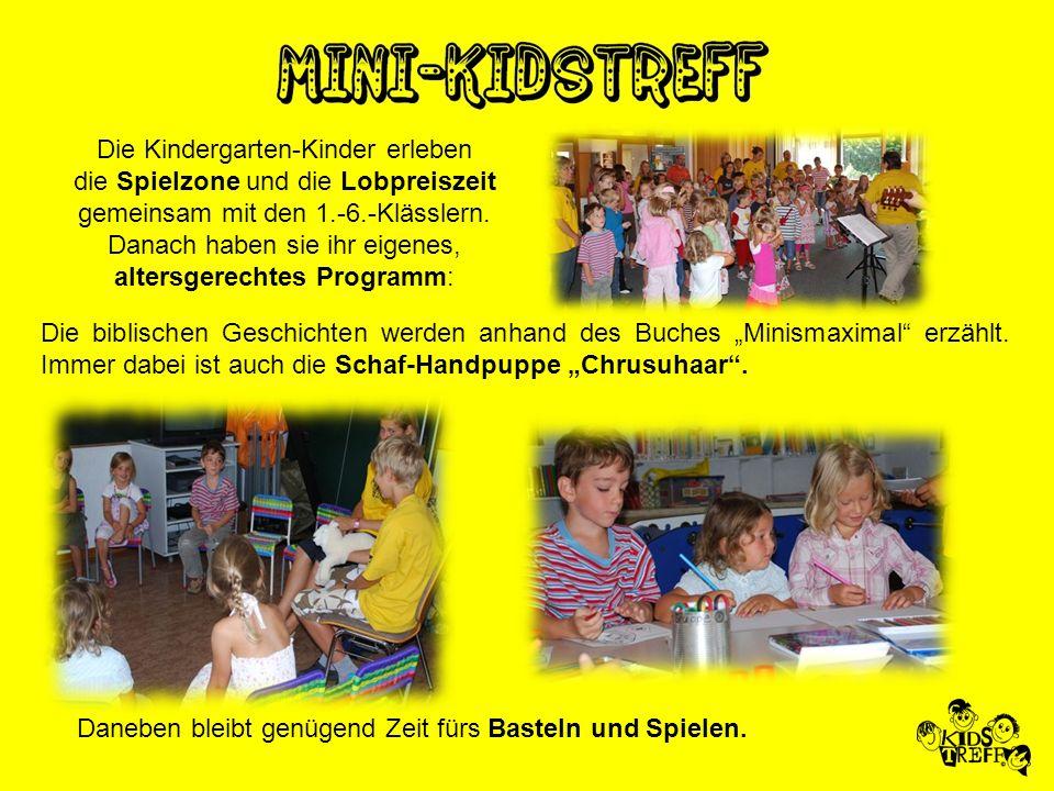 Die Kindergarten-Kinder erleben