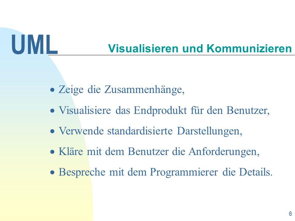 Visualisieren und Kommunizieren