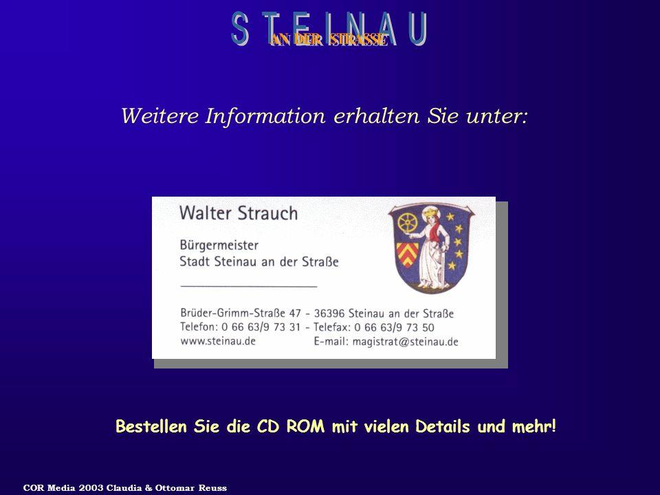 Bestellen Sie die CD ROM mit vielen Details und mehr!