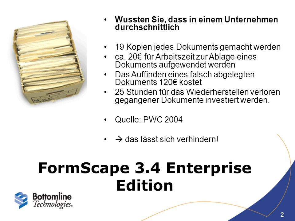 FormScape 3.4 Enterprise Edition