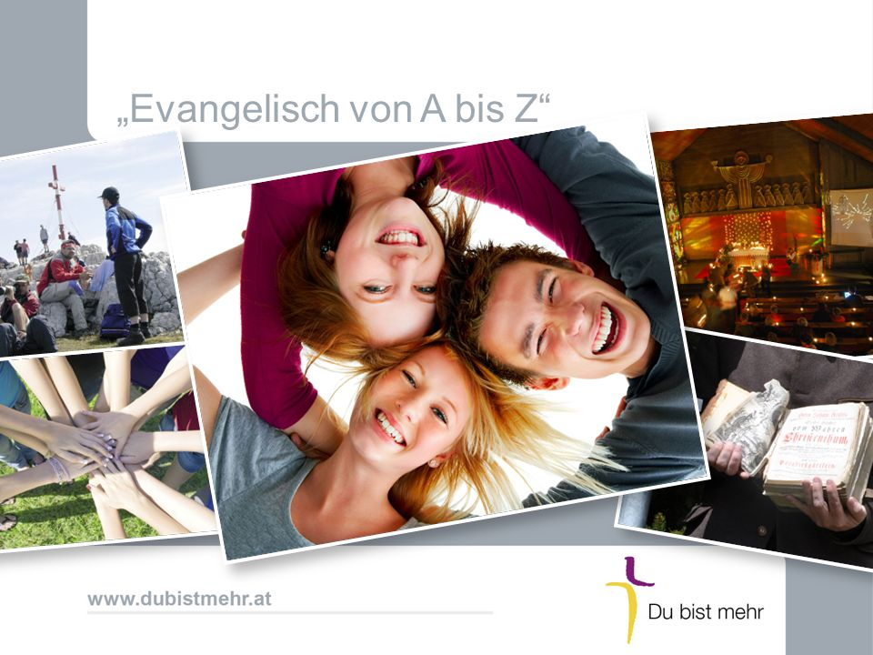 """""""Evangelisch von A bis Z"""