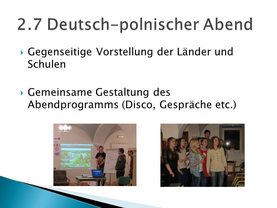2.7 Deutsch-polnischer Abend