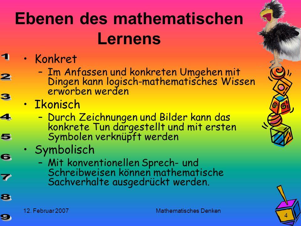 Ebenen des mathematischen Lernens