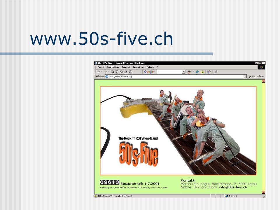 www.50s-five.ch