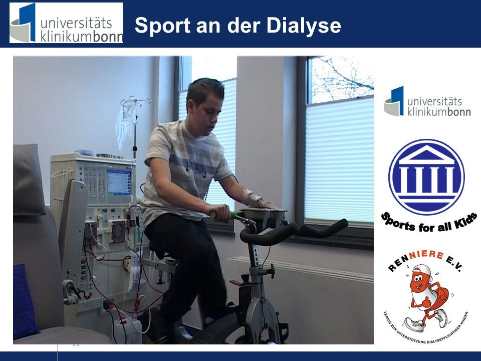 Sport an der Dialyse Sports for all Kids