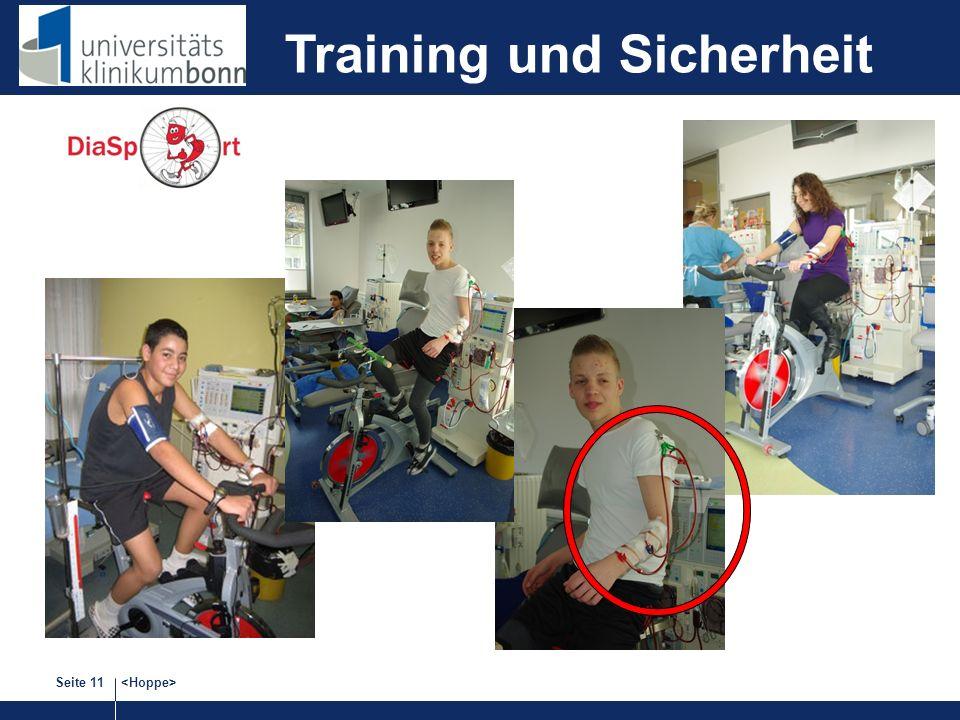 Training und Sicherheit