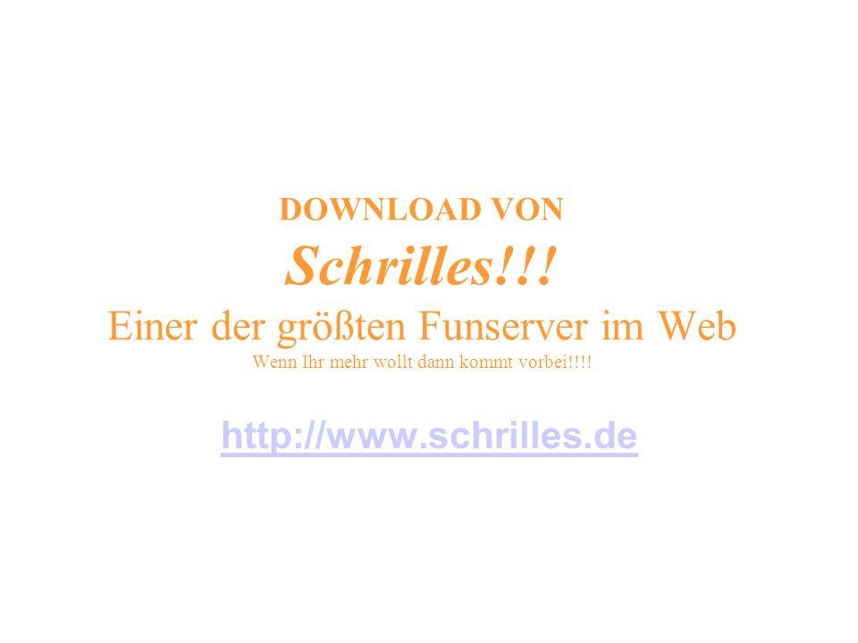 DOWNLOAD VON Schrilles