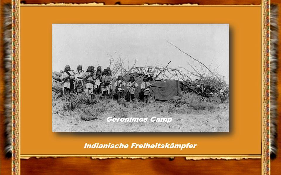 Geronimo mit Stammesbrüder