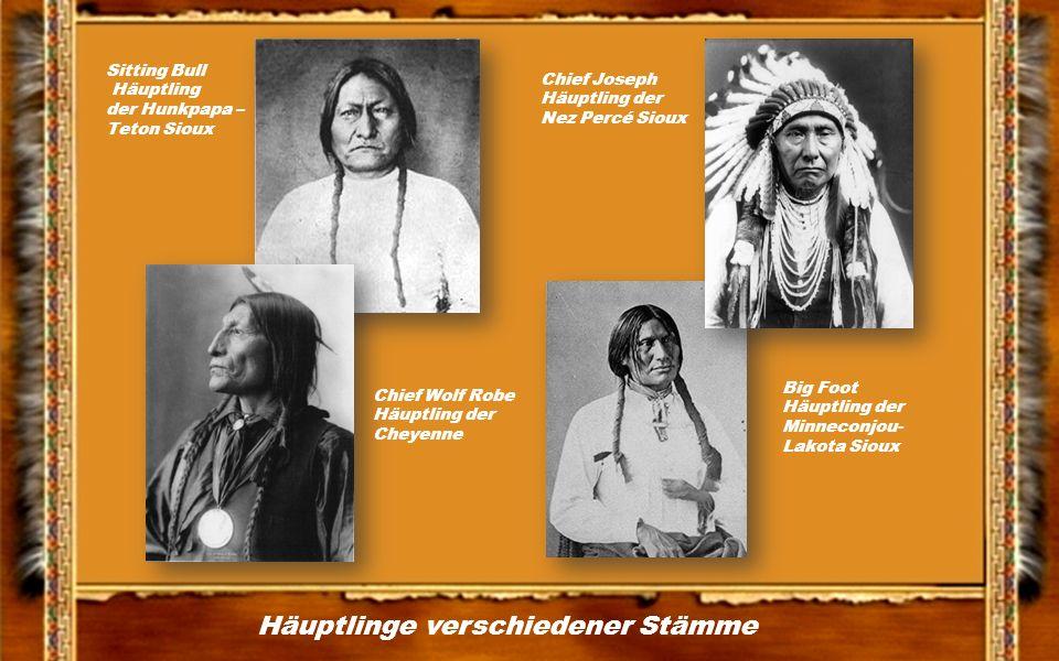 Häuptlinge verschiedener Stämme