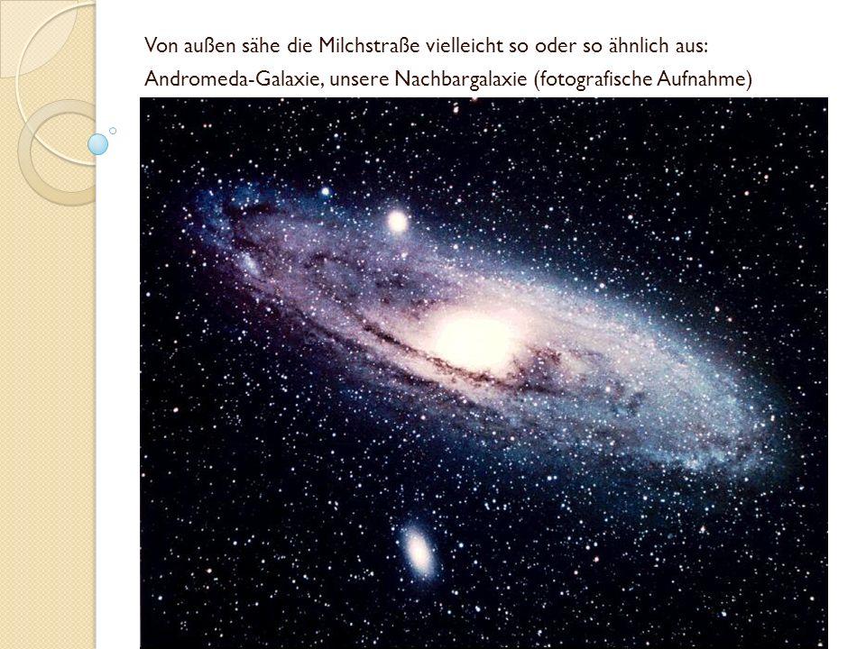 Von außen sähe die Milchstraße vielleicht so oder so ähnlich aus: