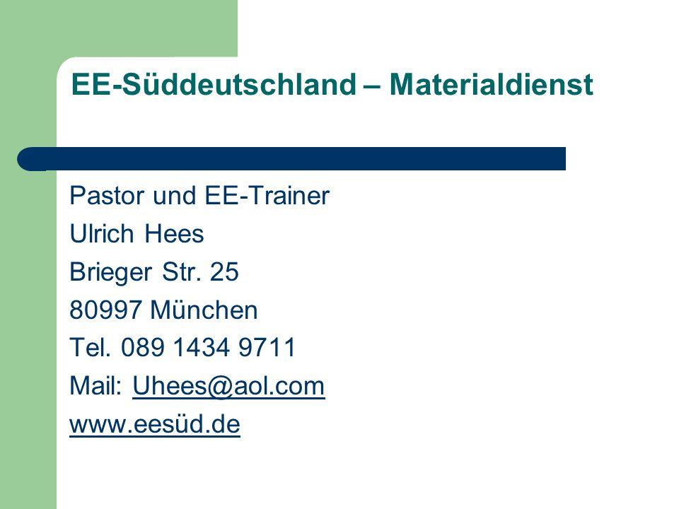 EE-Süddeutschland – Materialdienst