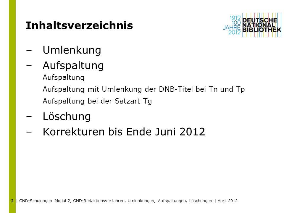 Korrekturen bis Ende Juni 2012