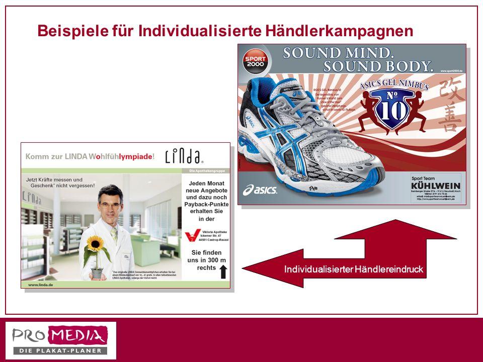 Beispiele für Individualisierte Händlerkampagnen