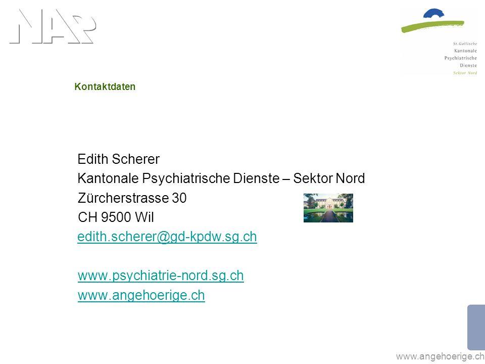 Kantonale Psychiatrische Dienste – Sektor Nord Zürcherstrasse 30