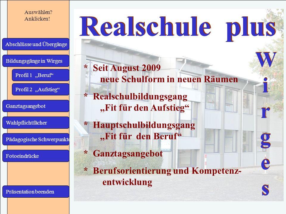 Realschule plus Realschule plus Wi r g e s Wi r g e s