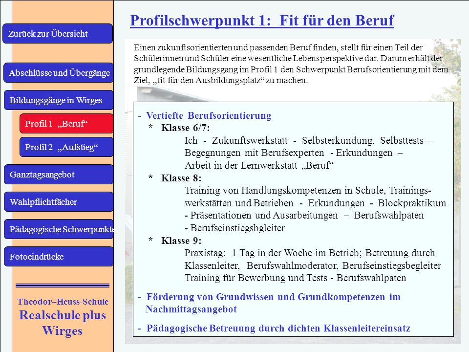 Theodor–Heuss-Schule Realschule plus Wirges