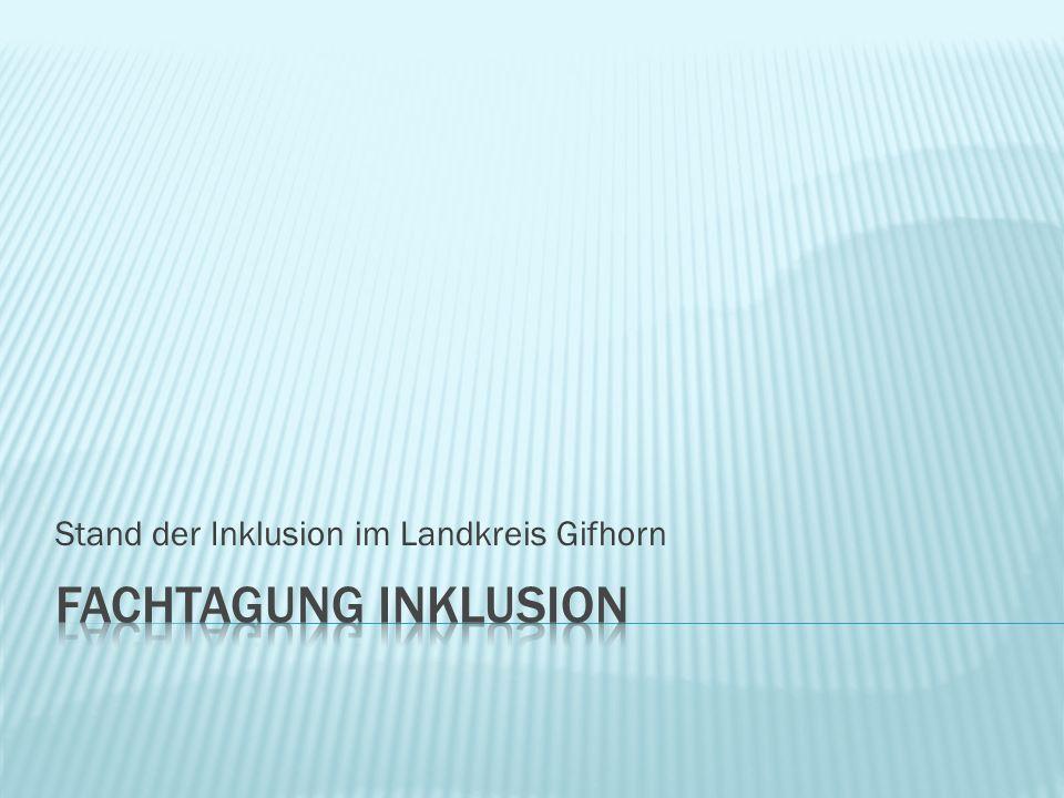 Stand der Inklusion im Landkreis Gifhorn