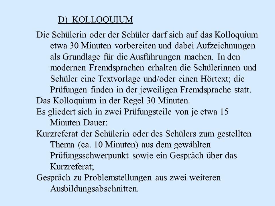 D) KOLLOQUIUM