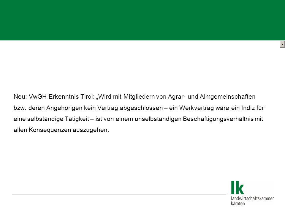 """Neu: VwGH Erkenntnis Tirol: """"Wird mit Mitgliedern von Agrar- und Almgemeinschaften"""